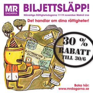Biljettsläpp MR-dagarna 2016 vit