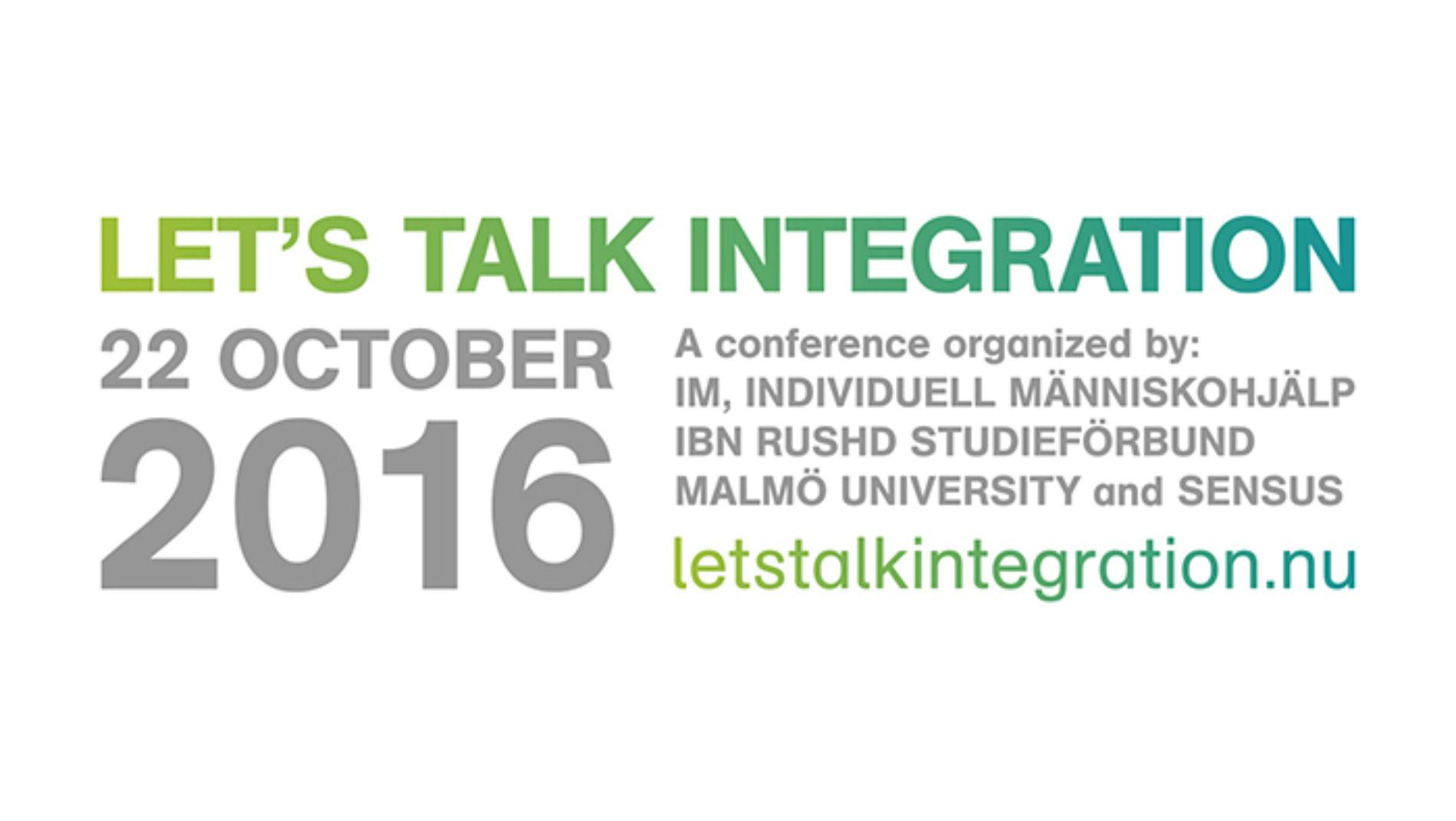 Let's talk integration