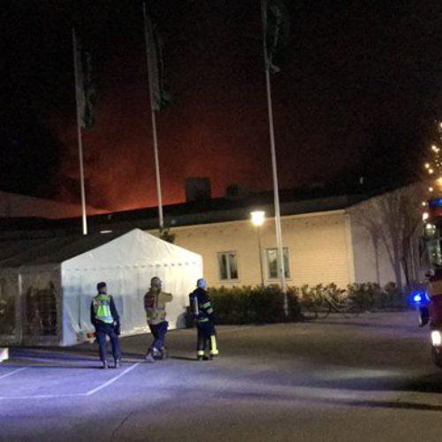 Ibn Rushds medlemsorganisation utsatt för brandattentat