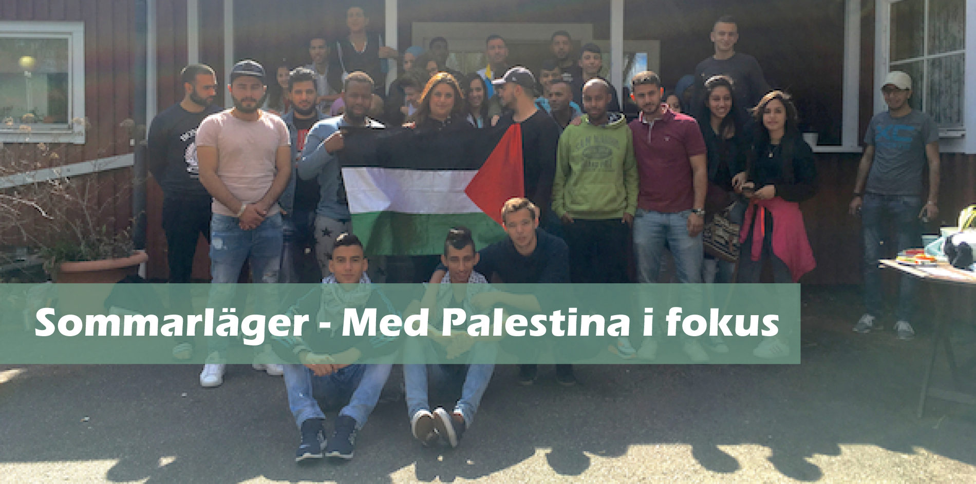 Sommarläger – Med Palestina i fokus