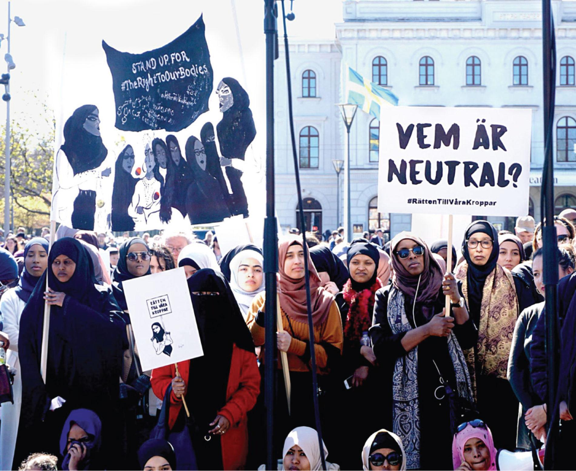 Stå upp för muslimska kvinnors rätt till arbete