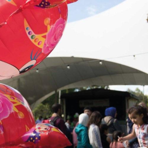 Eidfestival i naturskön miljö