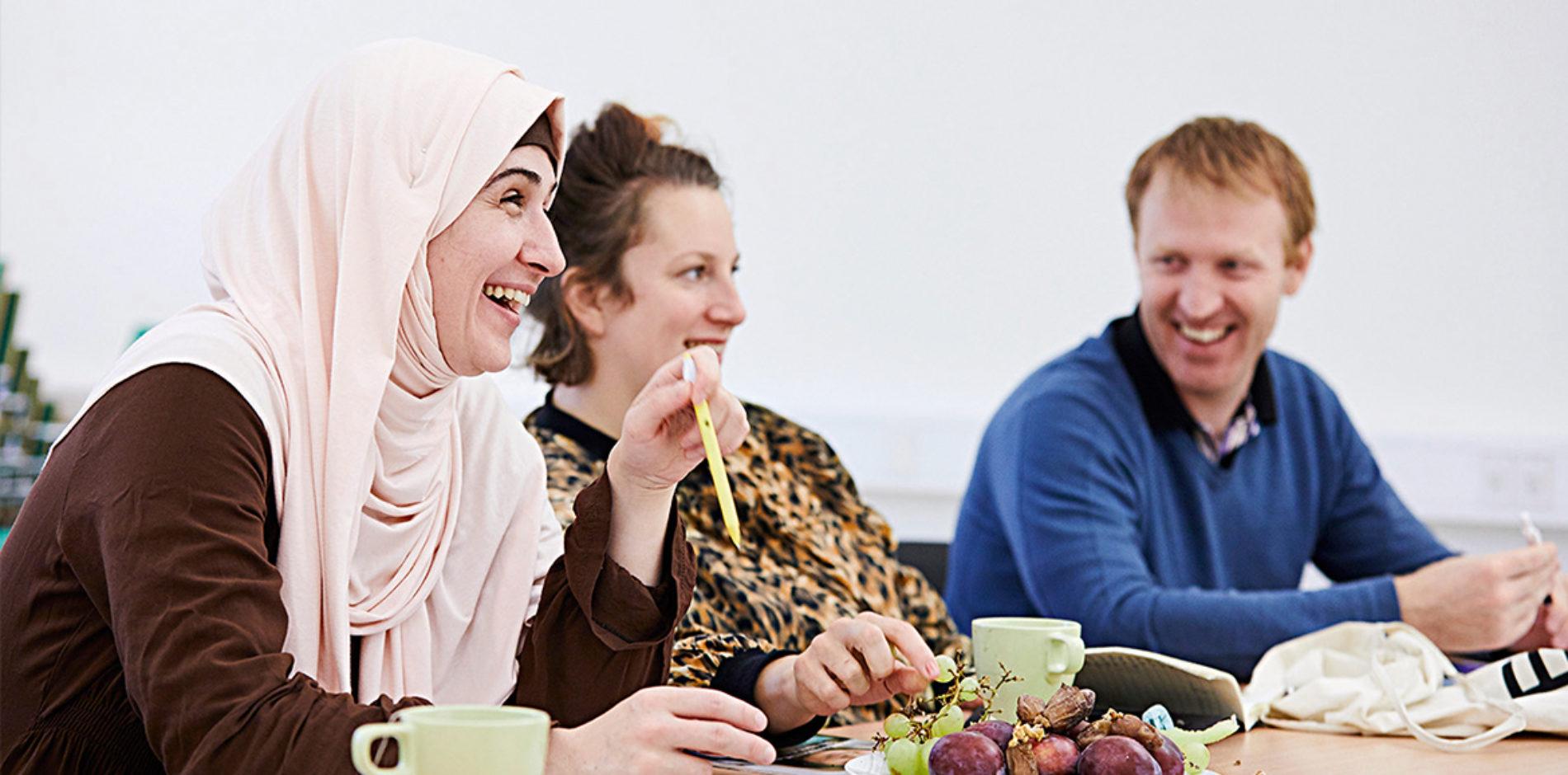 Språkbad i arabiskacirkel