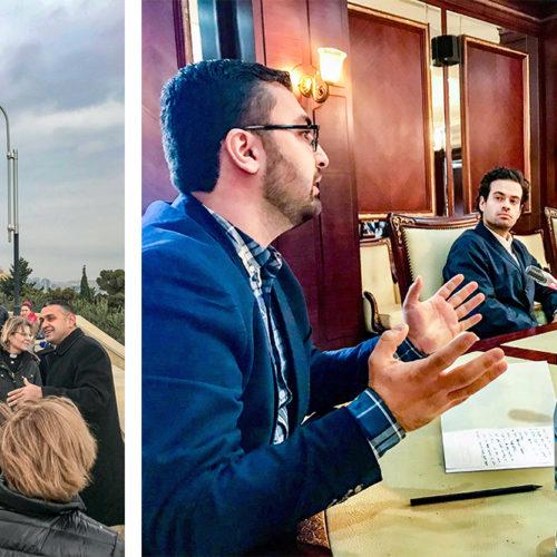 Omar Mustafa i Azerbajdzjan med UD