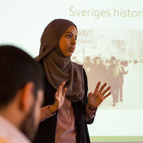 Utbildning om islamofobi i Alby