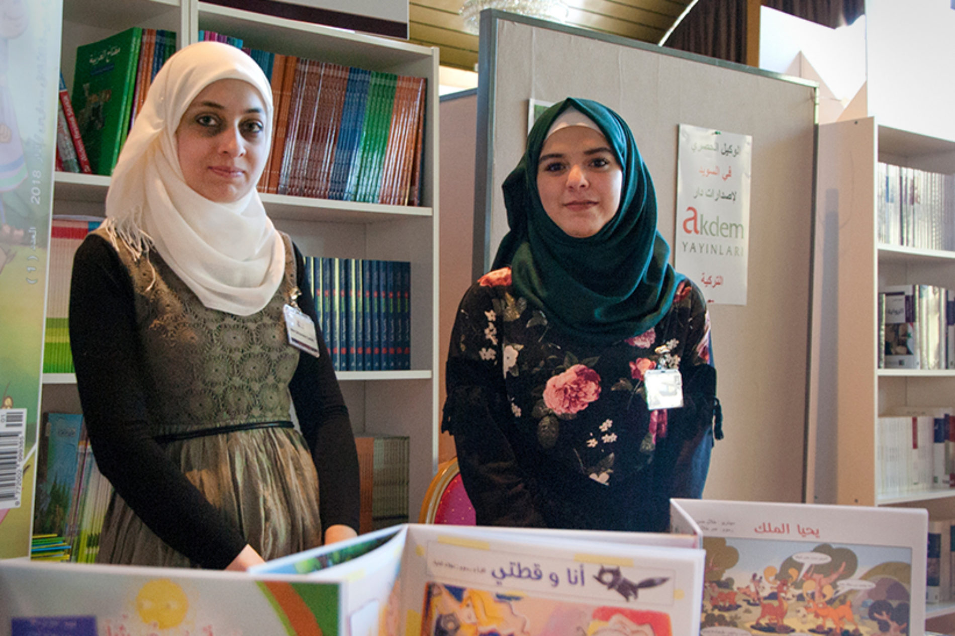 Läsglädje under Arabiska bokmässan