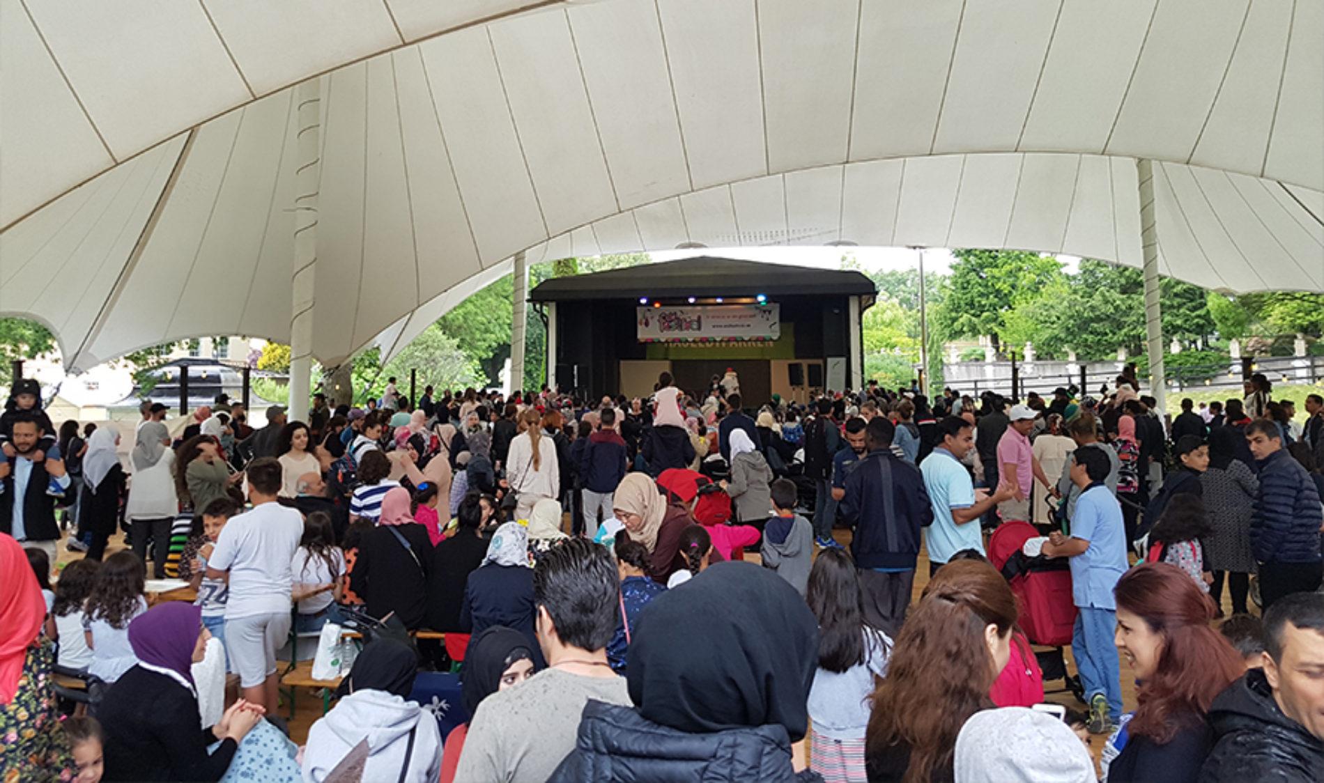 Sverige firade Eid med Ibn Rushd