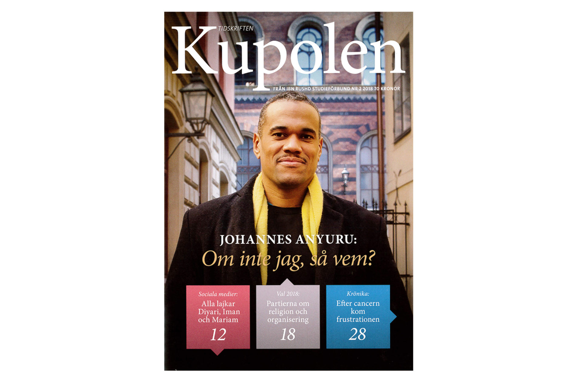 Möt Johannes Anyuru, @halalkomedi och @hijabmuslim i Kupolen