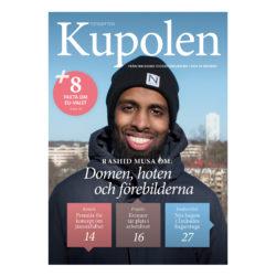 Möt Rashid Musa i årets första nummer av tidskriften Kupolen