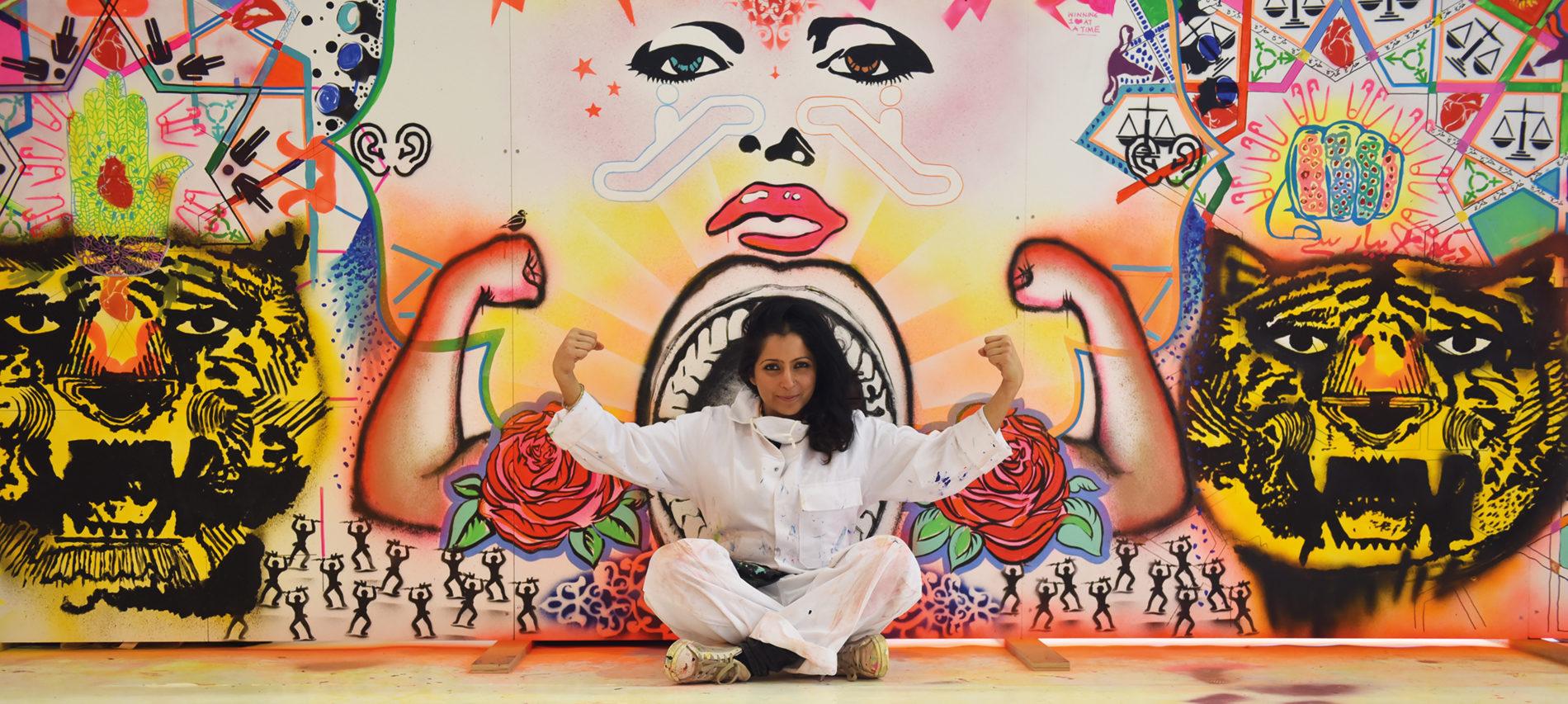 """Saadia Hussain: """"Konst är en del av att vara människa"""""""