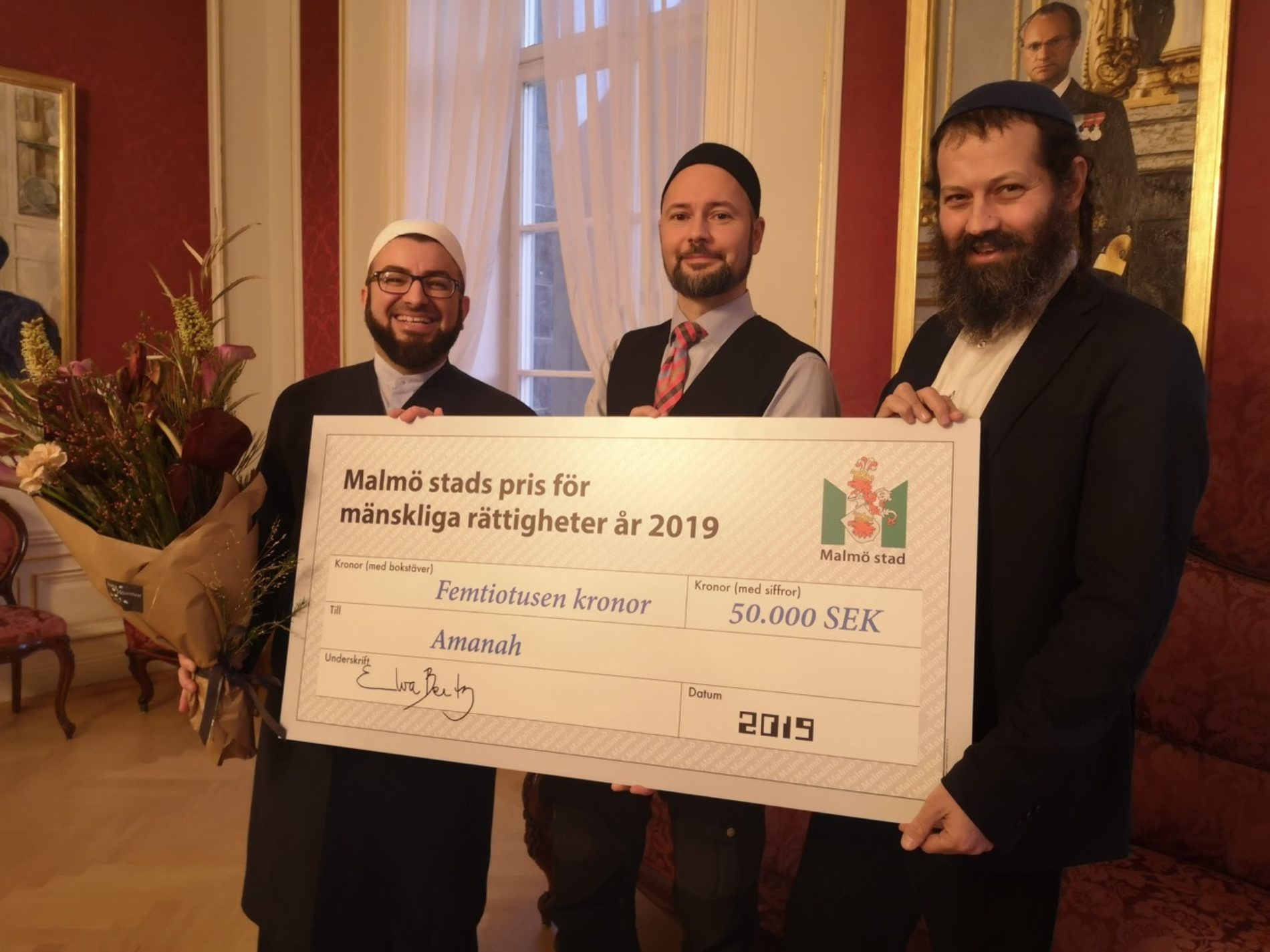 Ibn Rushd ger stöd till prisbelönt interreligiöst projekt