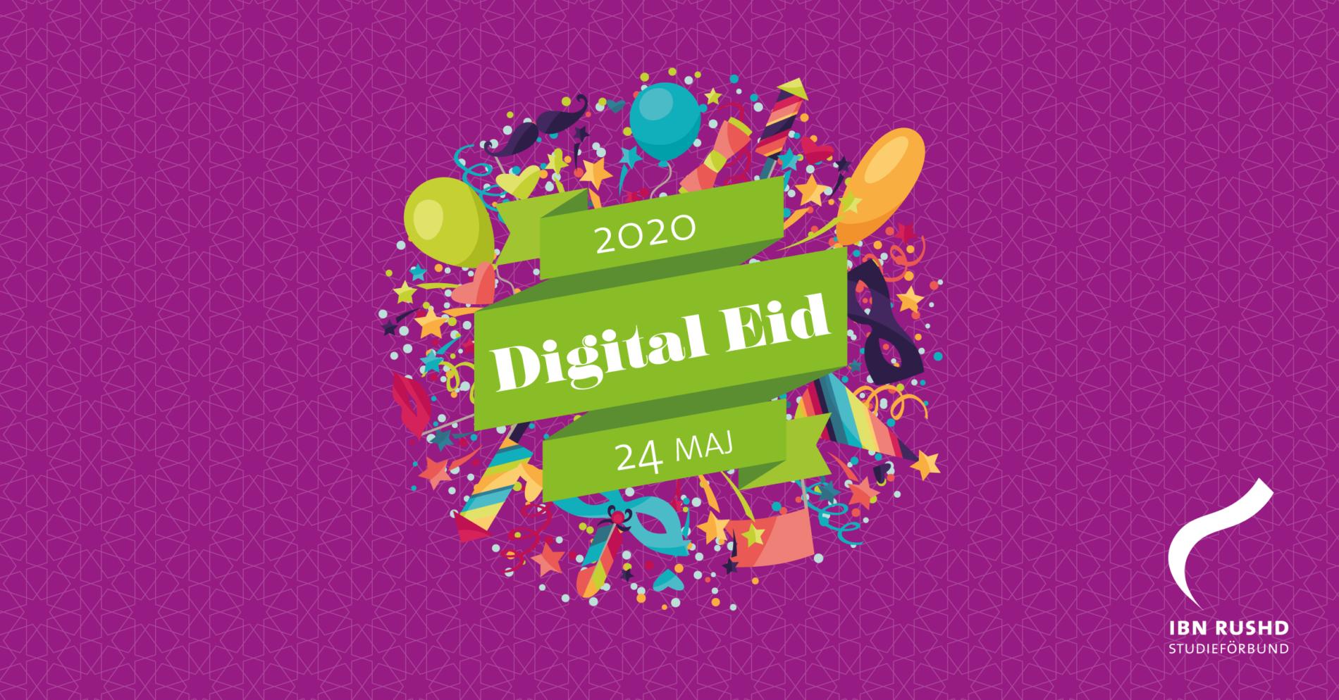Ibn Rushd skapar digital eid-fest för hela Sverige
