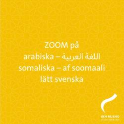 Zoom för cirkelledare – på somaliska, arabiska och lätt svenska