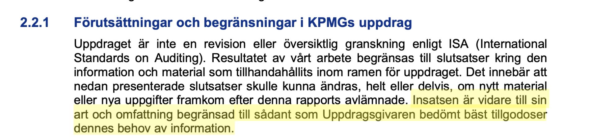 Del 3. Göteborgs ekonomiska granskning är ett luftslott