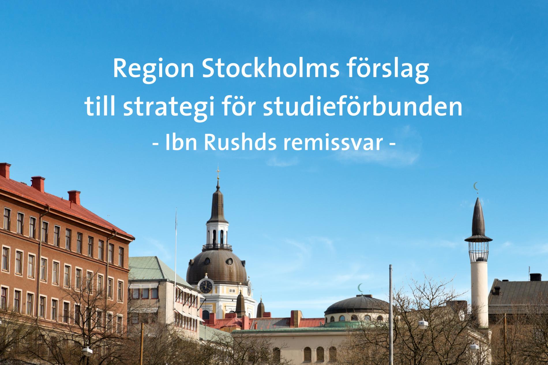 Region Stockholm föreslår ny strategi för studieförbunden