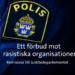 Förbud mot rasistiska organisationer ineffektivt och tandlöst mot islamofobi